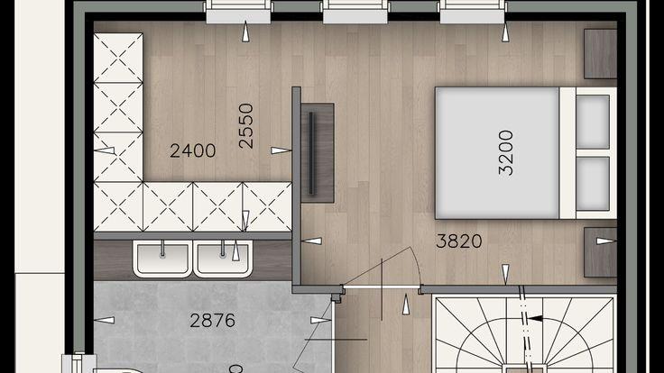 indeling slaapkamer met inloopkast