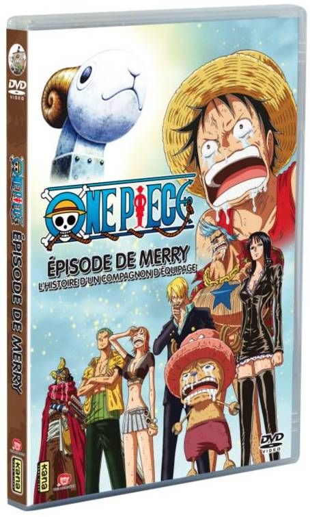"""Cet Épisode Spécial (Oav), comme son nom l'indique, aura pour vedette le ①ER Navire ⛵ de l'Équipage de """"Chapeau Paille"""" : le « ⛵ Vogue Merry ⛵ ». ~ Langue : VF/VOSTF   Disponible en :DVDà 14,99€ •Combo DVD/Blu-rayà 19,99€ ~ ⚓_Øne_Piece_⚓"""
