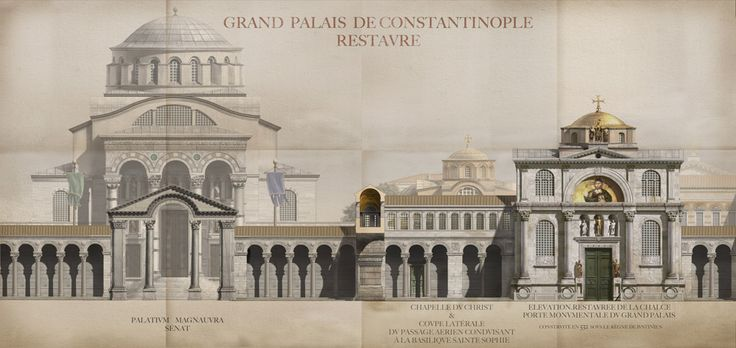 Amazing Reconstructions Of Constantinople Architectural