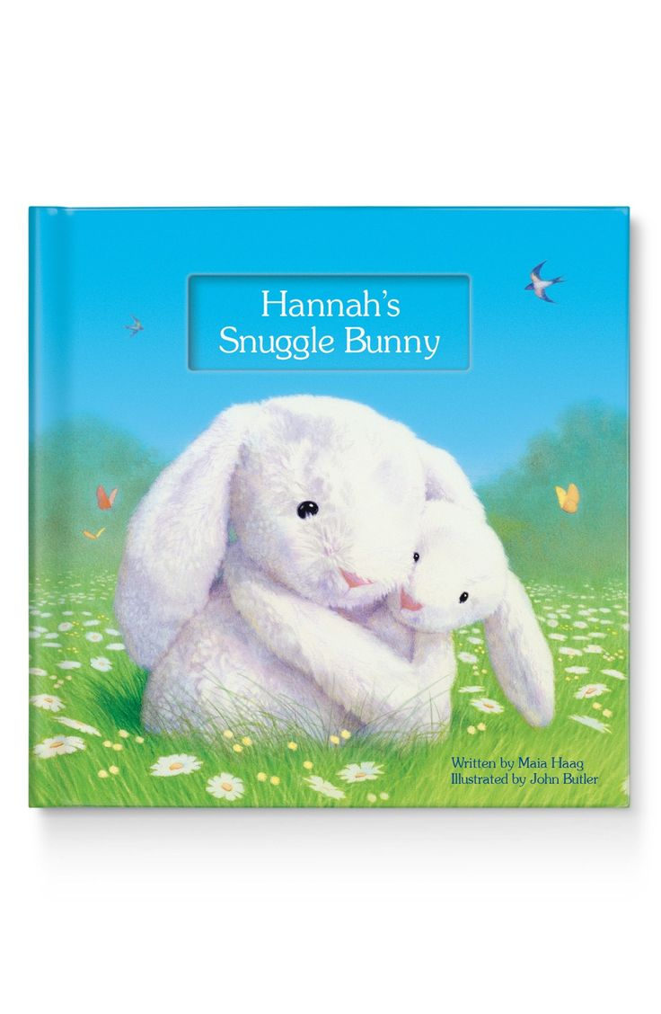 A personalized book adds a little excitement to bedtime stories.