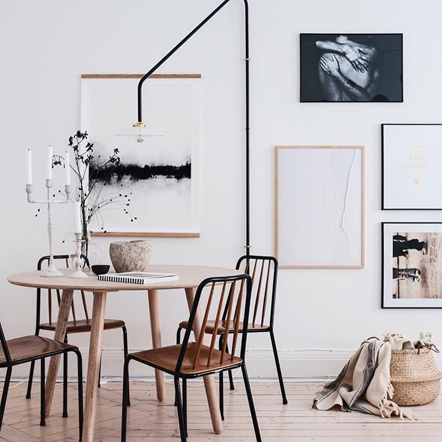 77 Gorgeous Examples of Scandinavian Interior Design 2018 Farmhouse wall decor Dining room wall decor Gallery wall ideas Diy wall decor Farmhouse kitchen decor Kitchen wall art #DiningRoom #WallDecor #WallArt #DiningRoomIdeas #Elegant #Shabby Chic #Hobby Lobby #Art #Tuscan #Simple #Boho #Contemporary #Vintage #Transitional #Casual #Picture Frames #Quotes