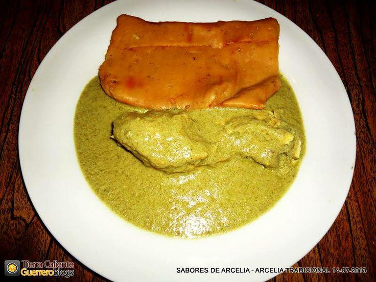 Tierra Caliente Guerrero Blogs: Mole Verde con Tamales Nejos