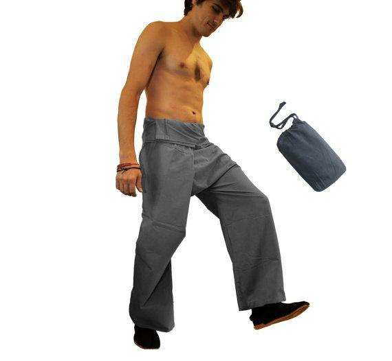 Thaise visser Broek dat aka Wrap broek zijn lichtgewicht en zeer comfortabel.  Visser broeken zijn gemaakt van weefsel aangenaam aanvoelt.  Effen