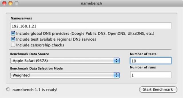 Speed Up Your Browser by Testing Your DNS Provider: You can use Google's namebench to test your DNS provider as well as other regional and global DNS systems.