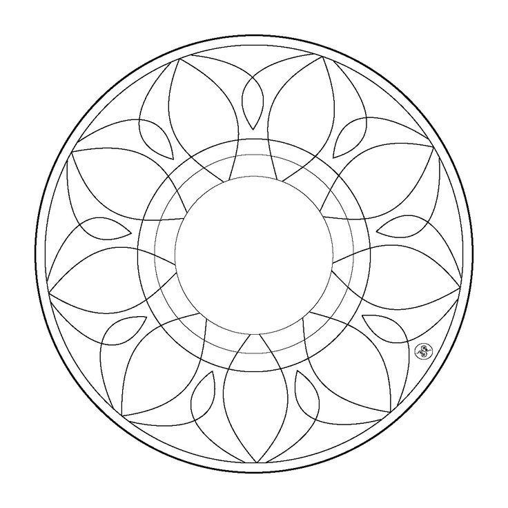 25 best ideas about simple mandala on pinterest simple for Easy printable mandala coloring pages