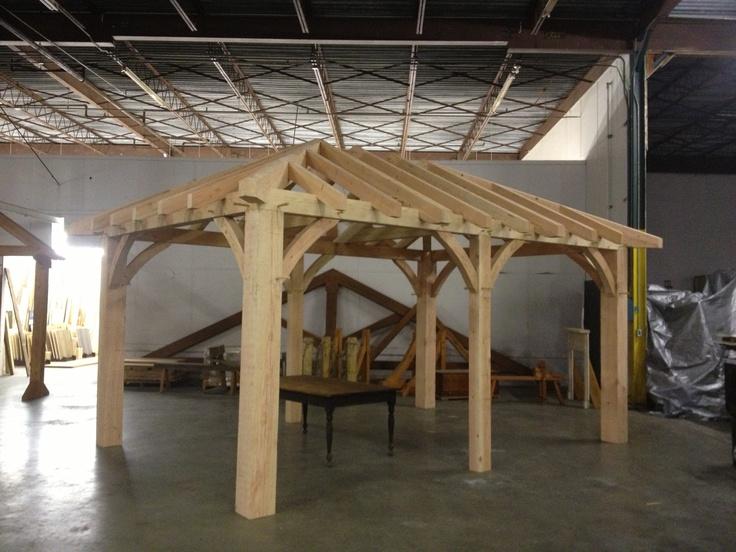 For Sale Douglas Fir Hip Roof Pavilion Contact Us For