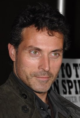 Rufus Sewell....Been fascinated by those eyes and that rough voice ever since I saw Cold Comfort Farm