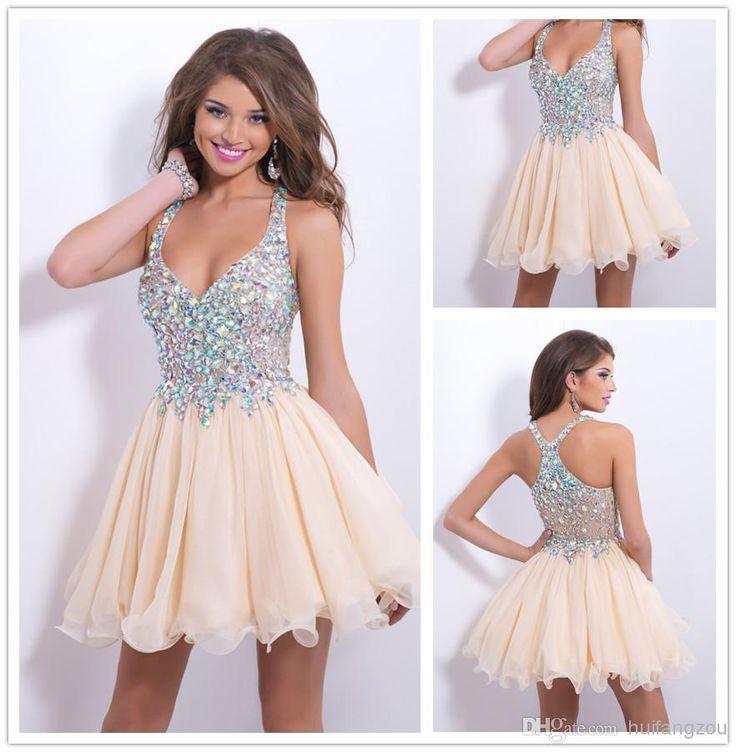 27 best Vestidos images on Pinterest | Short prom dresses, Sweet ...