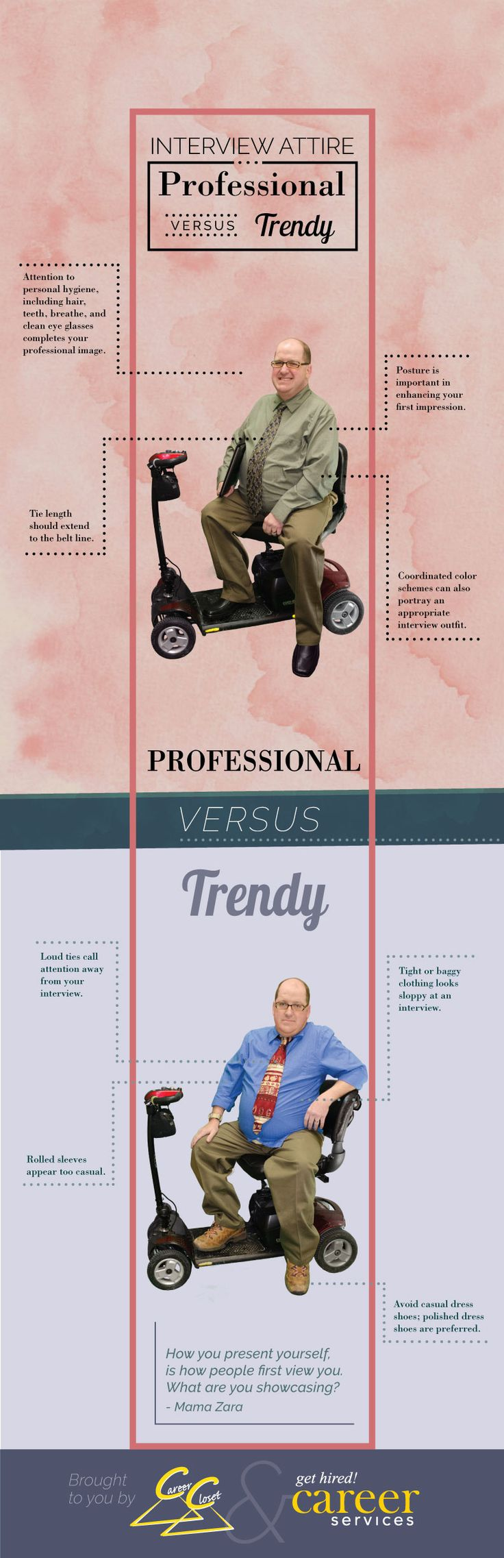 Professional Vs. Trendy