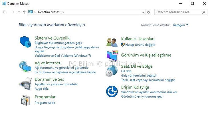 Windows 10 Creators Update Denetim Masası Nerede?   Devamı İçin:  https://www.pcbilimi.com/windows-10-creators-update-denetim-masasi/  1703 sürüm, Creators Update, denetim masası, denetim masası kayboldu, denetim masası yok, microsoft, windows, Windows 10   Genel, Windows