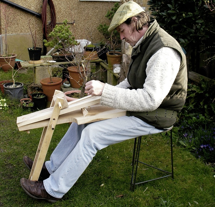Bodger s board part treewright wood shaving horses