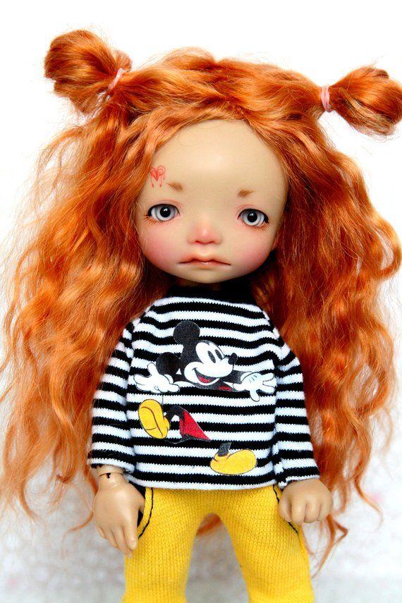 Outfit for a doll BJD Lati Yellow//Pukifee//IrrealDoll//Nikki Britt//Darack doll