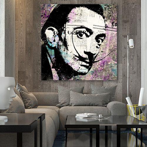 38 best tableau pop art images on pinterest pop art canvas and colors. Black Bedroom Furniture Sets. Home Design Ideas