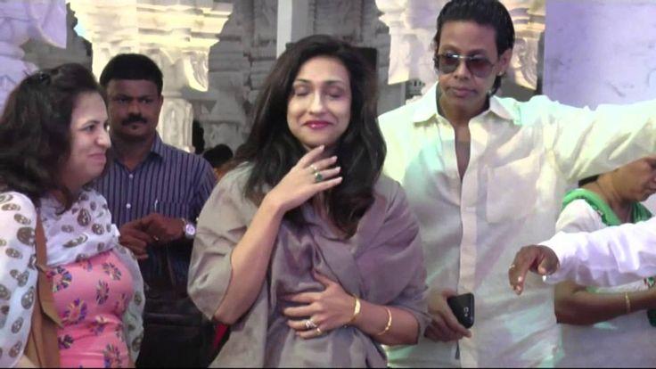 Uncut Video || Rituparna Sen At Andheri Ka Raja Ganpati Darshan