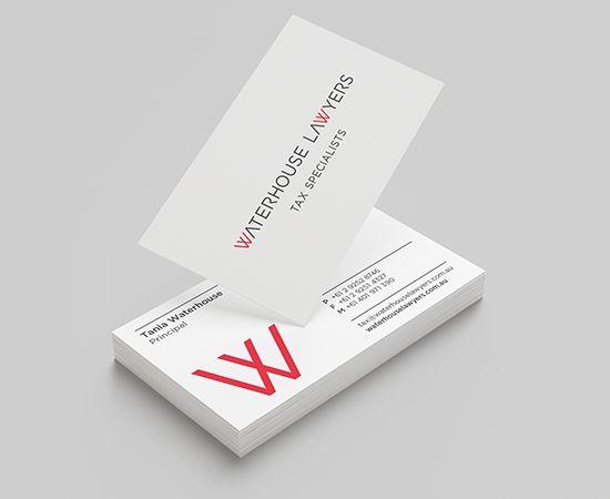 Waterhouse Lawyers Business Cards www.waterhouselawyers.com.au