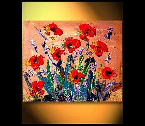 PALETTE KNIFE - Oil Painting On Canvas By Mark Kazav