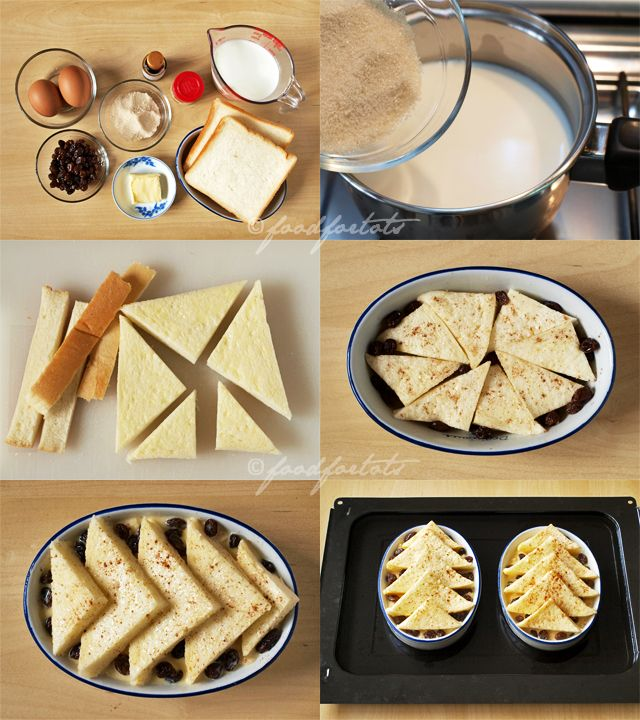 How to make bread and butter pudding - http://food-4tots.com/2012/03/19/bread-and-butter-pudding/