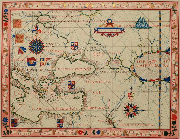 Best Maps Images On Pinterest Antique Maps Old Maps And - Portugal map sea