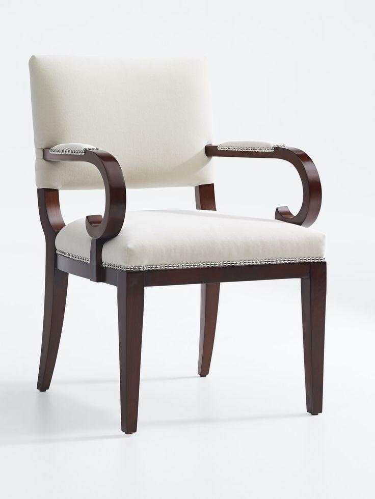 Ralph Lauren Home's Mayfair dining arm chair