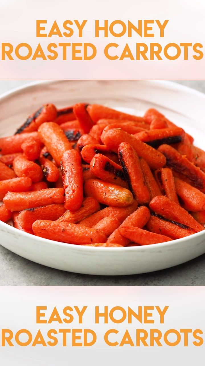 Easy Honey Roasted Carrots   – The Salty Marshmallow Recipes from the Blog