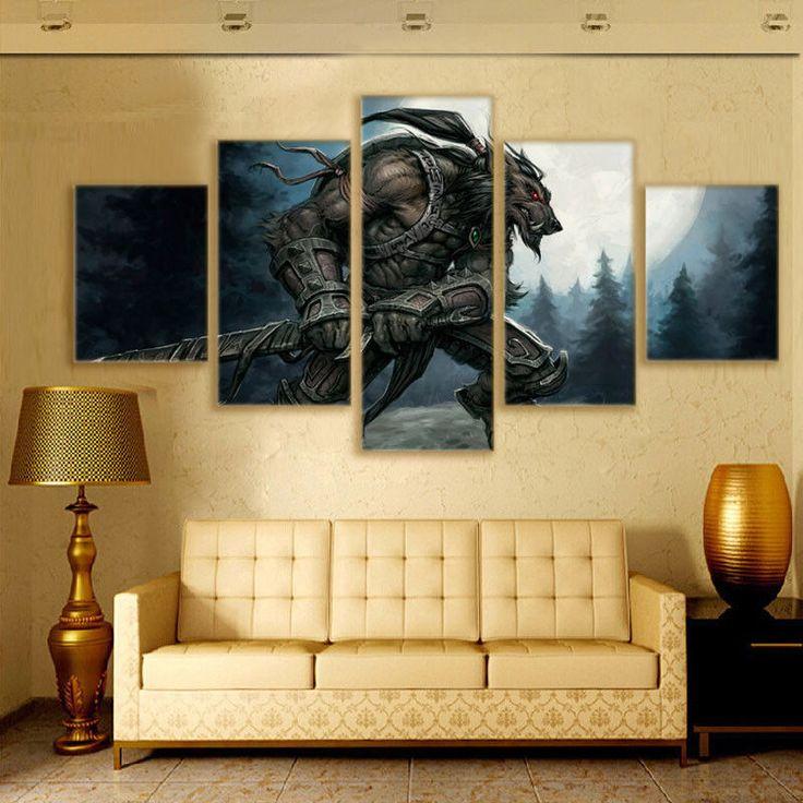 11 best Warcraft images on Pinterest | Canvas art paintings, Canvas ...