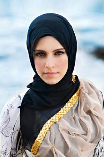 simple everyday hijab