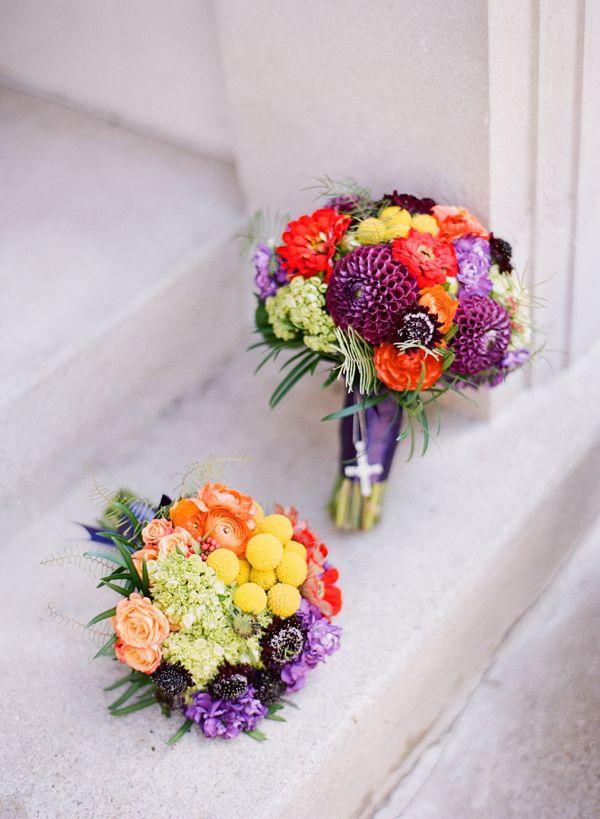 ウエディング ブーケ Summer Wedding Bouquet | Florist: Holly Chapple Flowers - - Photographer: Katie Stoops Photography