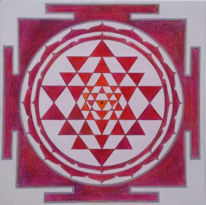 Sri Yantra Painting Meditation, March 26 | Bhakti Marga