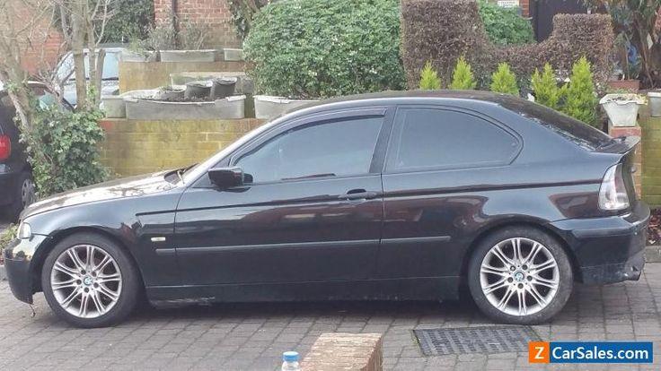 2001 BMW 316TI SE COMPACT BLACK ( CAT D ) #bmw #316tisecompact #forsale #unitedkingdom