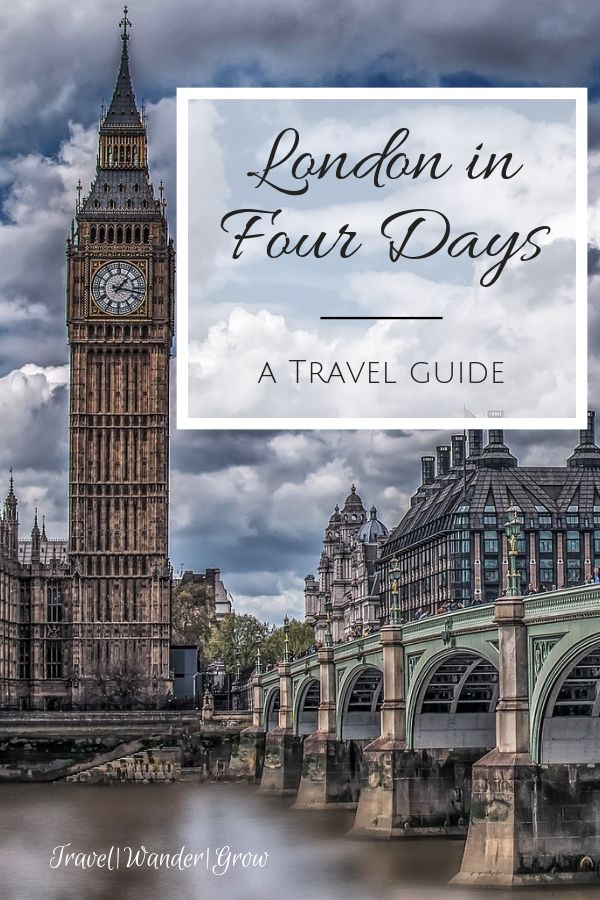 London in 4 Days – Esra Kazimoglu