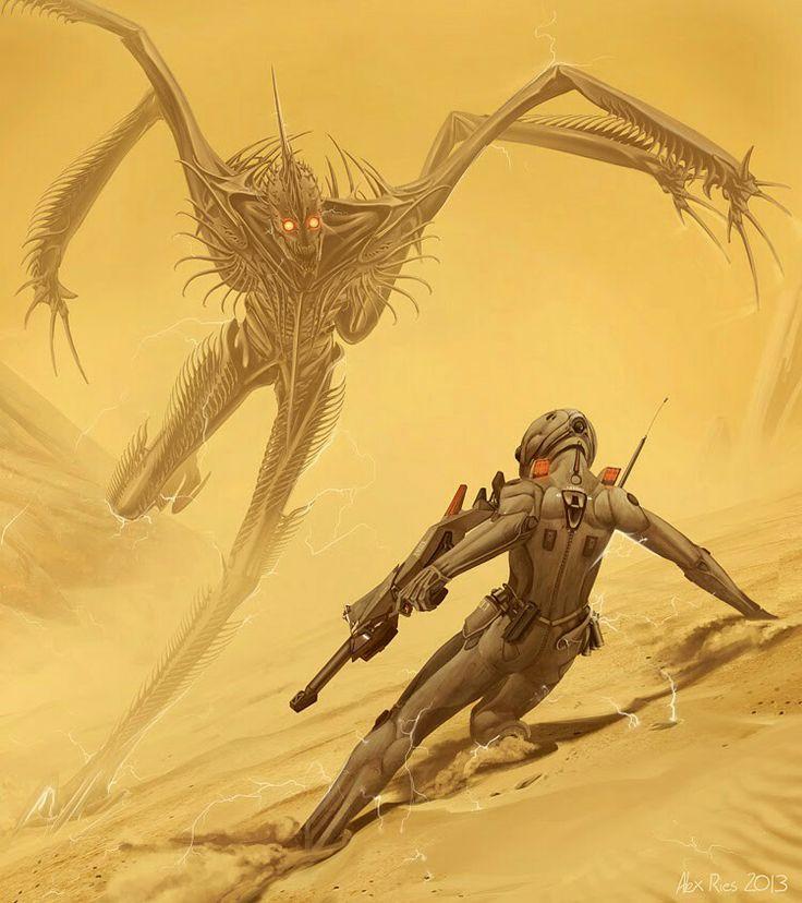 Hyperion Cantos, The Shrike vs Fedmahn Kassad