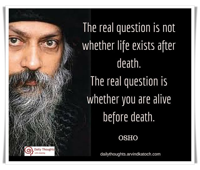 Osho Quotes On Life And Death: 122 Best My Favourite Daily Thoughts Images On Pinterest