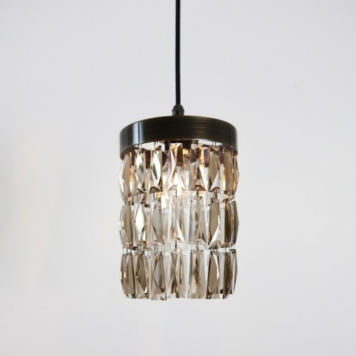 Smoke Crystal Mini Crescent Wall Light Electrical Pinterest Pendant Lighting And Lights