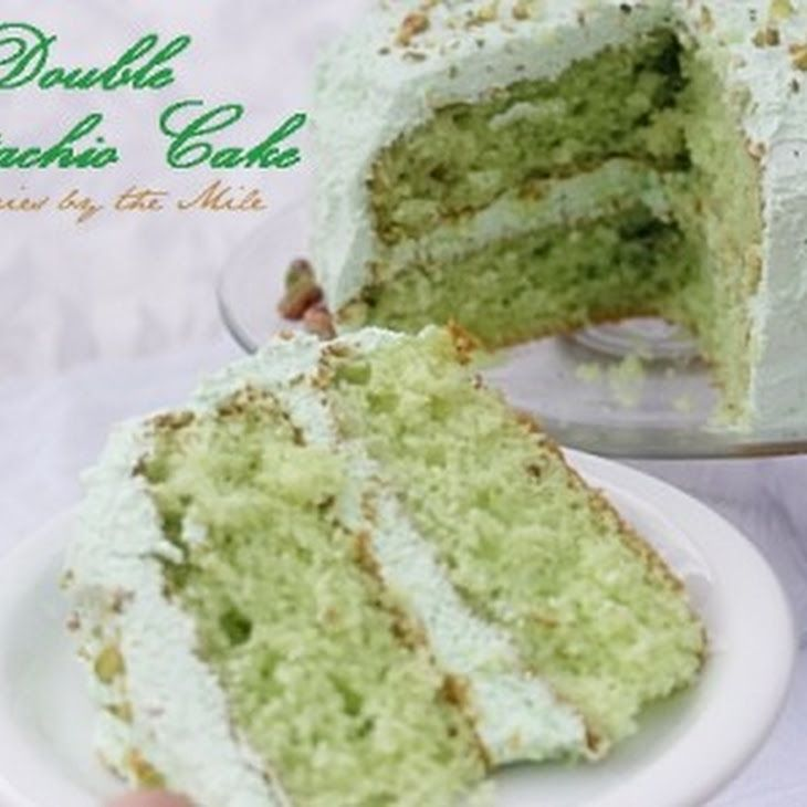 Pistachio Pudding Cake Dream Whip Frosting