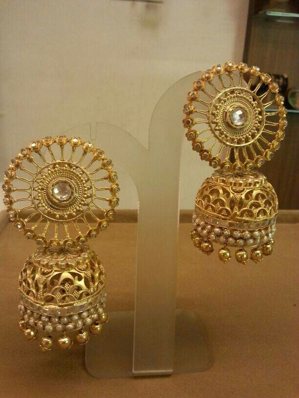 Pin By Shiwangi Narain On Jhumkas Traditional Indian