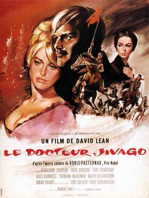 Le Docteur Jivago (Doctor Zhivago) est un mélodrame historique anglo-américain réalisé par David Lean, sorti en 1965. Il est l'adaptation du roman éponyme de Boris Pasternak. Avec Omar Sharif