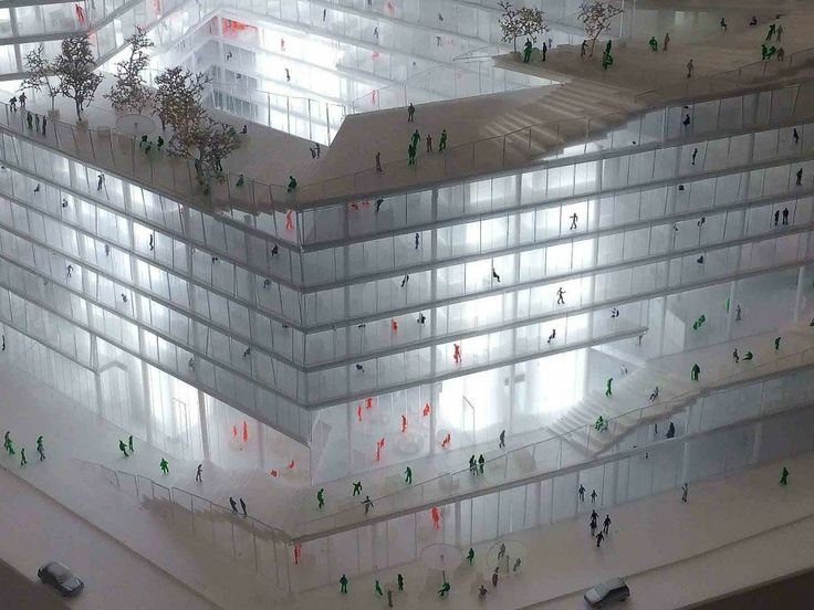 Amazing Gallery of BIG OMA B ro OS To Compete for New Media Campus in Berlin