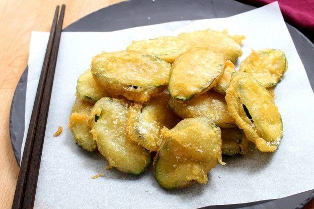 1. Deliciosas tempuras de calabacín