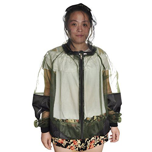 GOGO Mosquito Repellent Clothing Jacket With Pants Bug Suit  XXL ** Read more  at the image link.