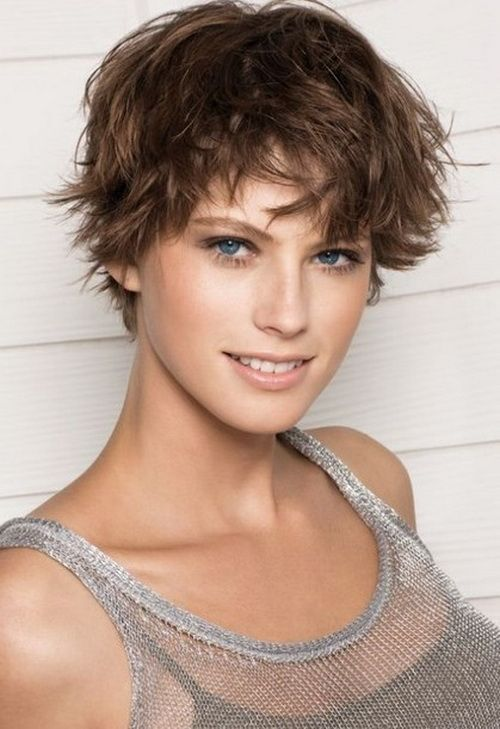popular short hairstyles for women. Realistically I think this is whatmy hair would look like if I cut it short with my naturally curly hair..