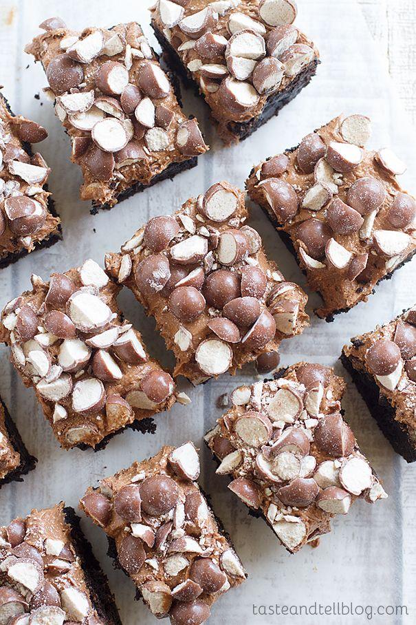 Double Malt Brownies