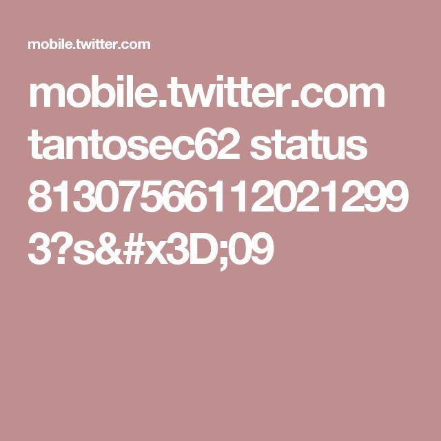 mobile.twitter.com tantosec62 status 813075661120212993?s=09