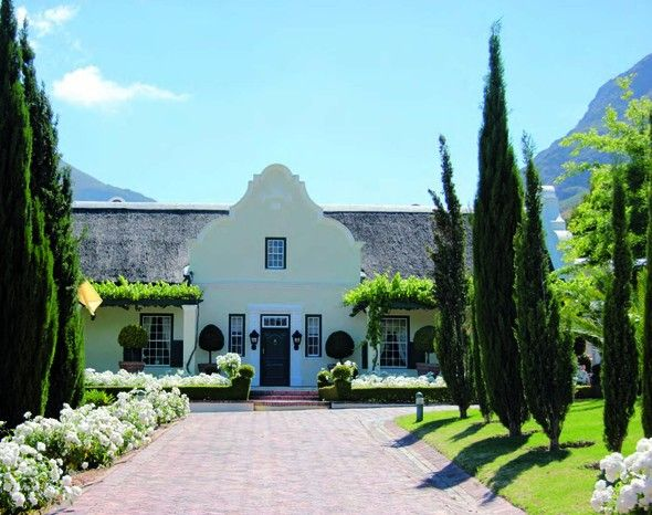 La Providence in Franschhoek is one of the most picturesque wine farms in the country. #investment