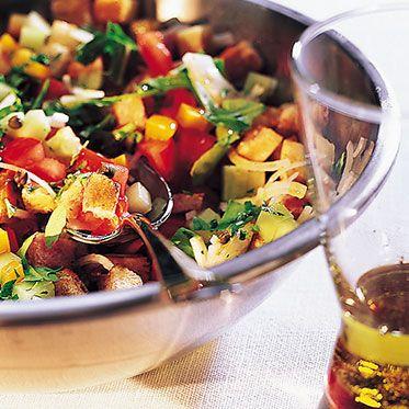 Toskanischer Brotsalat Rezept | Küchengötter