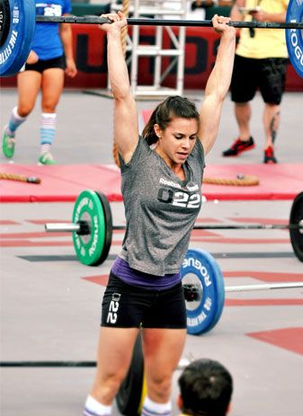 Julie Foucher. Bad ass girl! Cross fit champ, beautiful, & med student