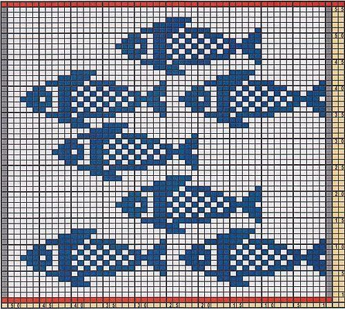 Ravelry: Potholder Fishes 2 pattern by Regina Schoenfeldt