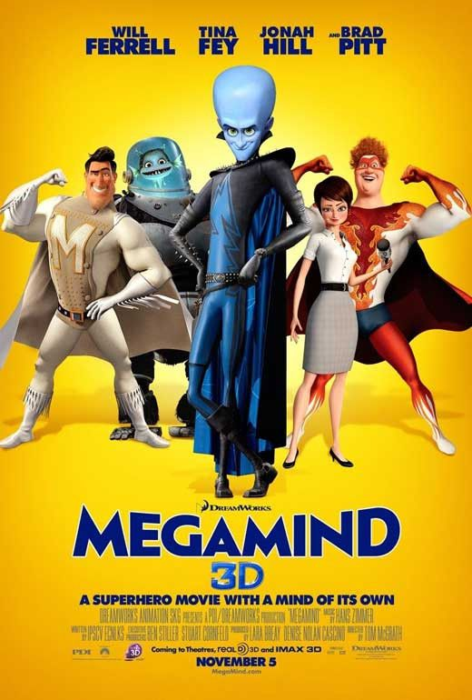 Megamind 11x17 Movie Poster (2010)