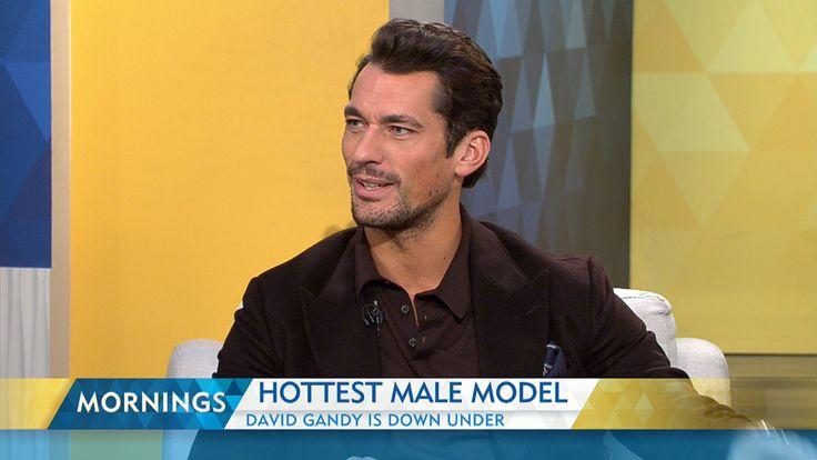 October 16, 2015: The world's hottest male model is in Oz.