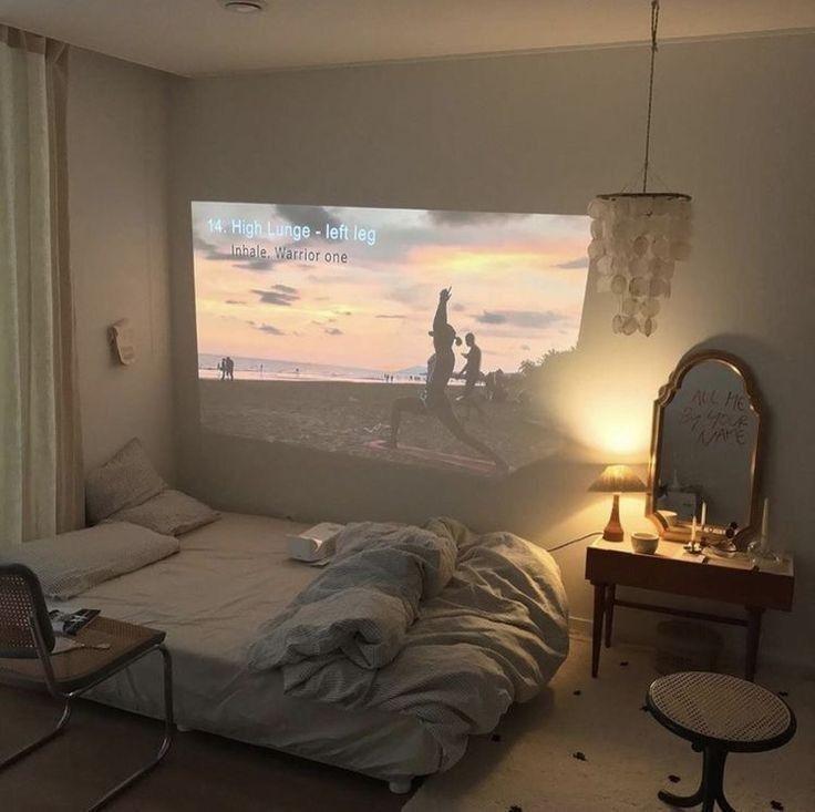 aesthetic bedroom dream rooms bed bedrooms interior