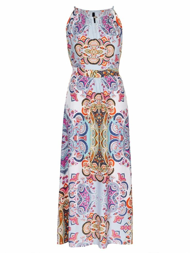 Printed Capri Maxi Dress